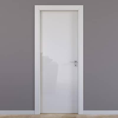 Porta da interno battente Massaua silk 60 x H 210 cm sx