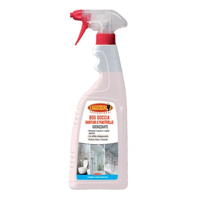 Pulitore spray Maggiordomo per box doccia sanitari e piastrelle 750 ml