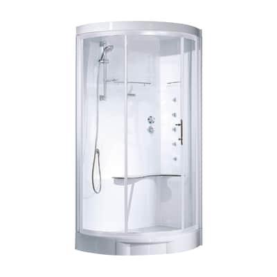 Cabina idromassaggio Cayenne 115 x 82 cm dx
