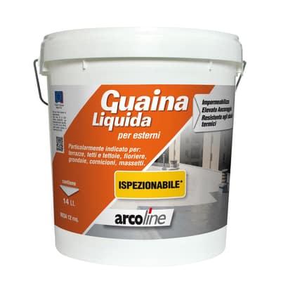Impermeabilizzante tetti, terrazze, coperture Guaina Liquida rosso mattone 14 L