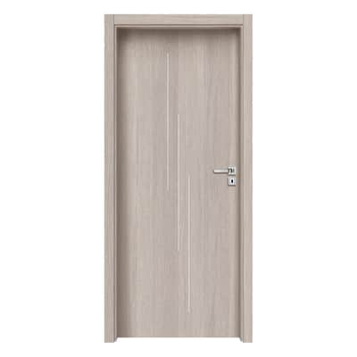 Porta da interno battente Cedar Inserti 70 x H 210 cm dx
