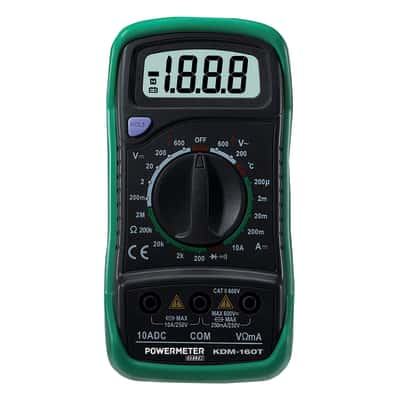 Multimetro GBC KDM-160T