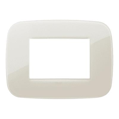Placca 3 moduli Vimar Arké reflex avorio