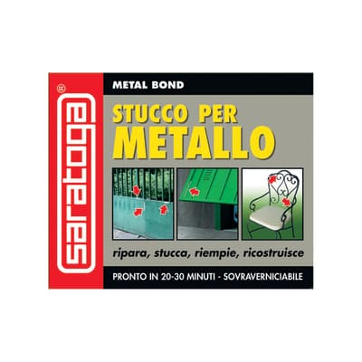 Stucco Metal Bond per metallo Saratoga grigio 125 ml
