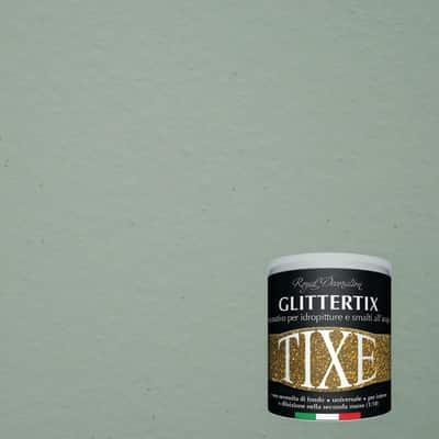 Finitura Tixe Glittertix verde glitterato 250 ml