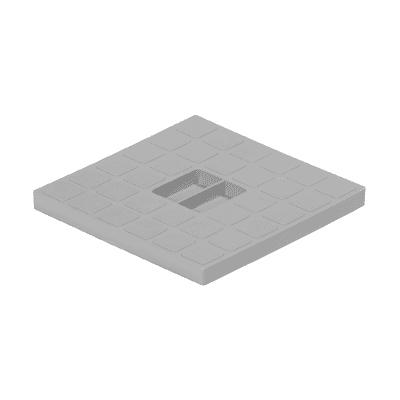 Ricambio coperchio 125 x 125 x 20 mm