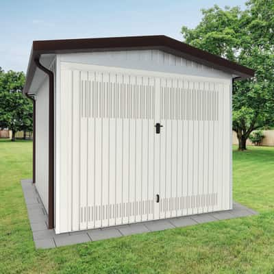Garage in metallo Chicago, 17,2 m²