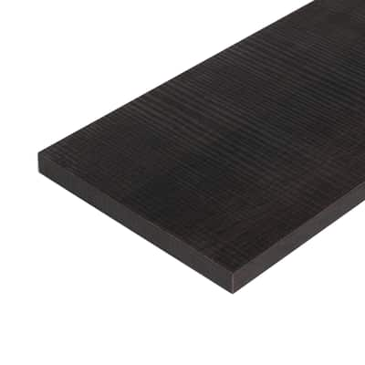 Pannello melaminico rovere scuro 18 x 400 x 1200 mm