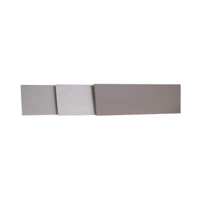 Alzatina su misura City laminato grigio H 10 cm