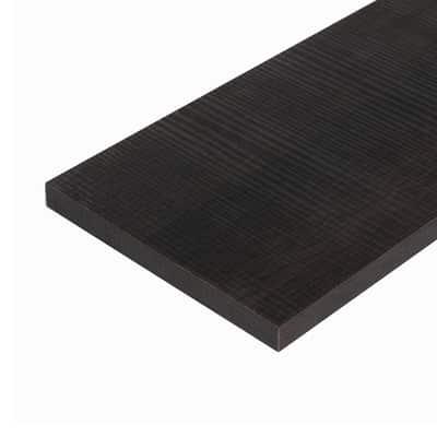 Pannello melaminico rovere scuro 18 x 200 x 1200 mm