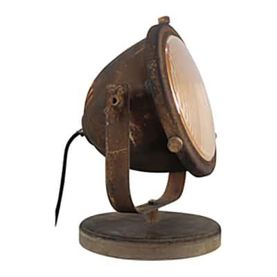 Lampada da tavolo Carmen bronzo