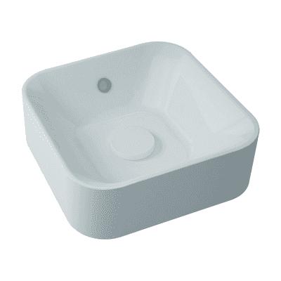 Lavabo da appoggio Capsule bianco