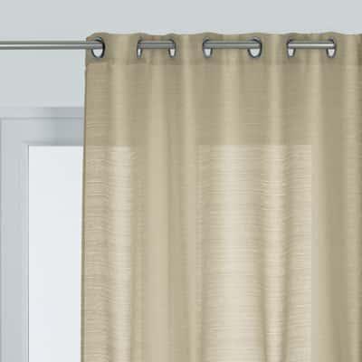 Tenda corda ecru 140 x 280 cm prezzi e offerte online for Tende corda leroy merlin