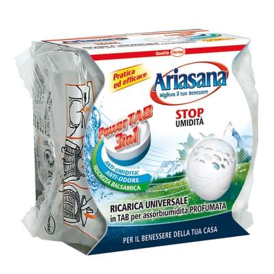 Assorbiumidità Ariasana Power Tab freschezza balsamica 300 g