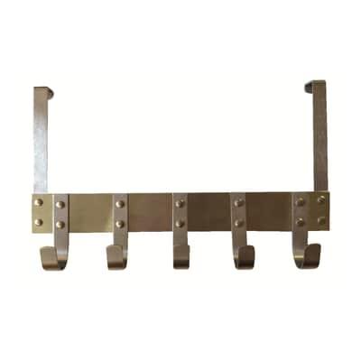 Appendiabiti da porta 5 posti nickel prezzi e offerte - Appendiabiti da porta ...