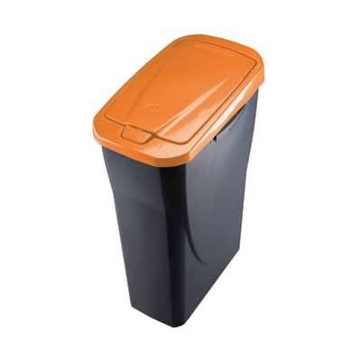 Pattumiera Ecobin 15 15 L arancione