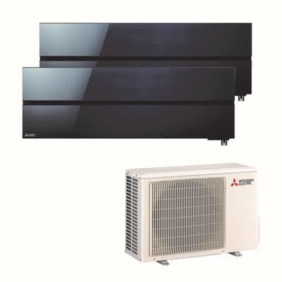 Climatizzatore fisso inverter dualsplit mitsubishi ln 9000 for Condizionatori leroy merlin