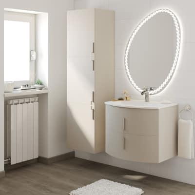 Mobile bagno Sting grigio natura L 69 cm