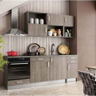 Cucina one olmo l 220 cm prezzi e offerte online leroy for Sdraio leroy merlin prezzi