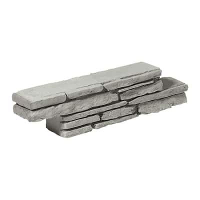 Muretto Z in cemento