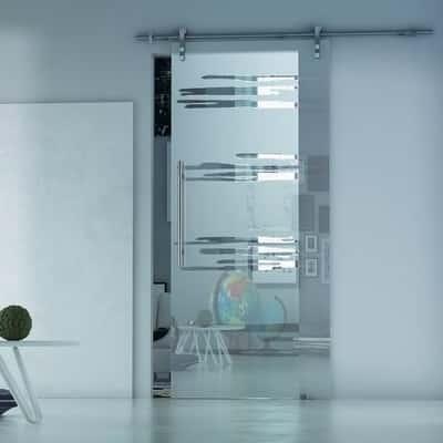 Porta da interno scorrevole lux neutro 86 x h 215 cm sx - Porta scorrevole da interno ...