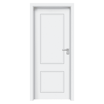 Porta da interno battente Samui bianco 70 x H 210 cm sx