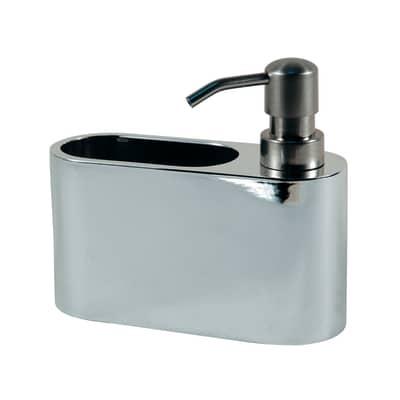 Porta spugna inox L 16,5 x P 6,2 x H 15,5 cm