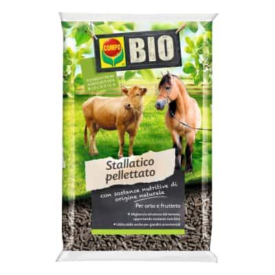 Concime per l'orto Bio stallatico pelletato Compo