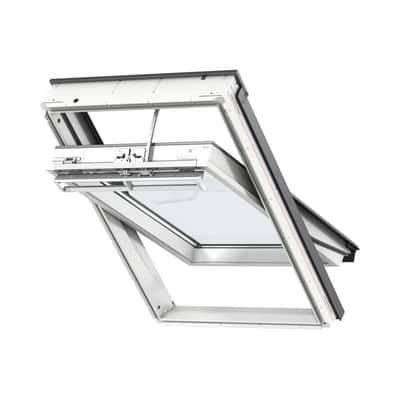 Finestra per tetto velux ggu ck02 007021 55 x 78 cm elettrica prezzi e offerte online leroy merlin - Finestra da tetto prezzi ...