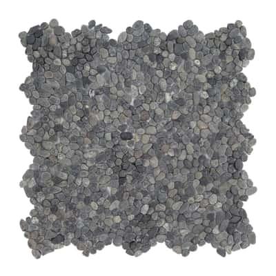Formella Microsasso nero 30 x 30 cm