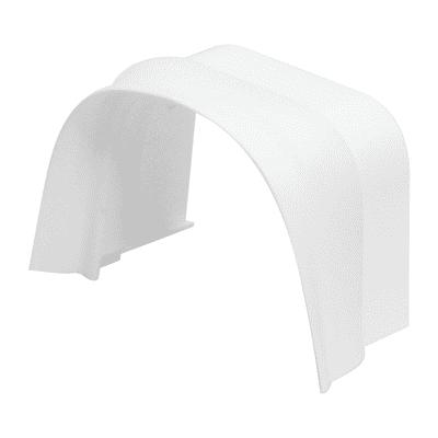 Raccordo Split con inserto in gomma 80 x 60 mm