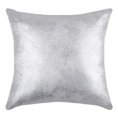 Cuscino Broceliande grigio retro tinta unita 40 x 40 cm