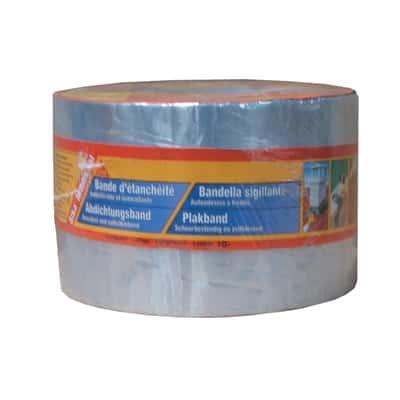 Banda sigillante Sika Multiseal in alluminio/butile color alluminio 10 x 0,12 cm, L 1000 cm