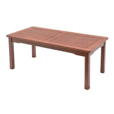 Tavolino CT 216 in legno Kervin, 100 x 50 cm