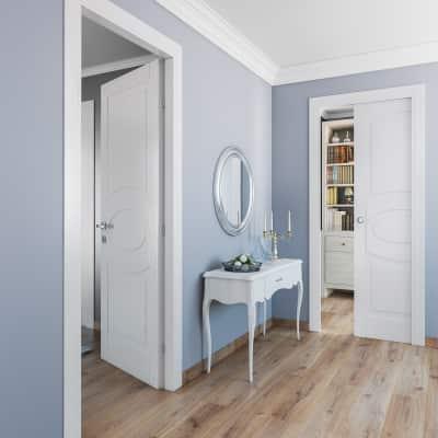 Porta da interno battente Street bianco 80 x H 210 cm sx