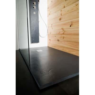 Piatto doccia resina Pizarra 180 x 90 cm antracite