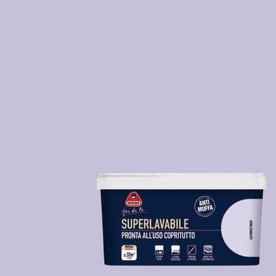 Idropittura superlavabile Antimuffa purple touch 2,5 L Boero
