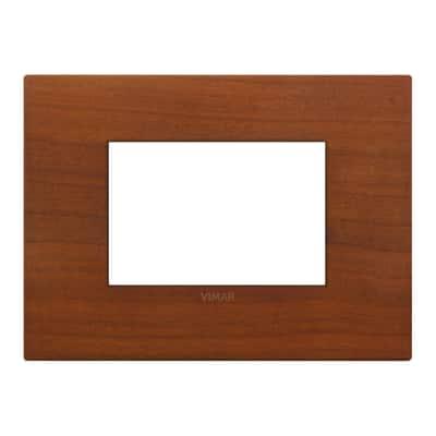 Placca 3 moduli Vimar Arké ciliegio