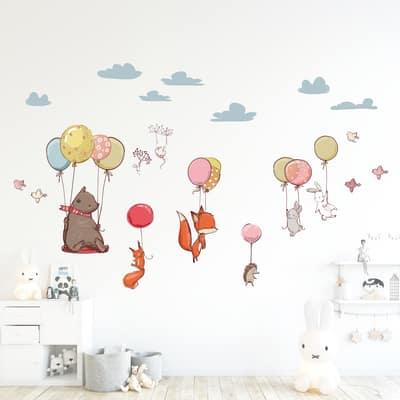 Sticker XL Flying Animals