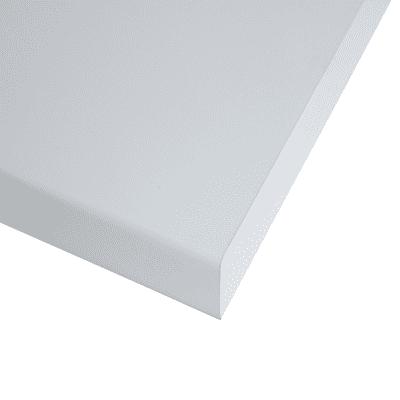 Piano cucina su misura laminato bianco 4 cm