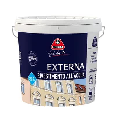 Pittura pliolite per esterno boero bianco 4 l prezzi e for Leroy merlin boero