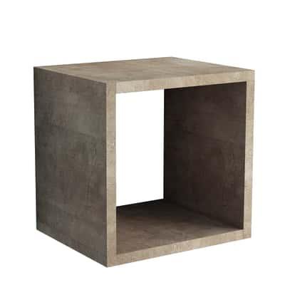 Cubo effetto ruggine L 25 x P 30, sp 1,8 cm
