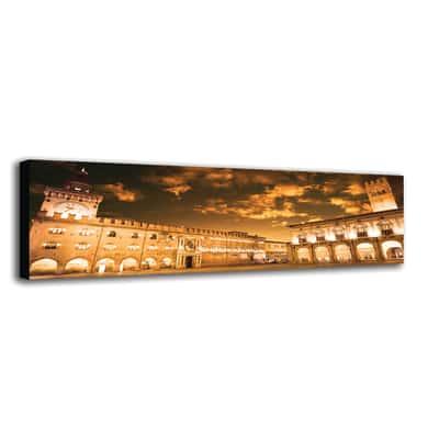 quadro su tela Bologna piazza Maggiore 40x125