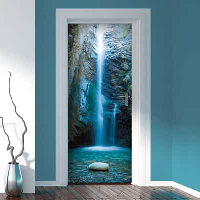 Sticker Door Cover Lagoon