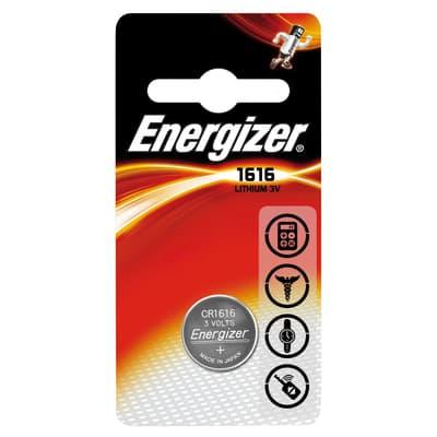 Pila a bottone Litio CR1616 Energizer