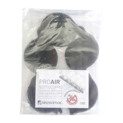 Sotto coppo Proair nero in Poliuretano espanso reticolato 186 x 6,8 cm confezione 1 pezzo