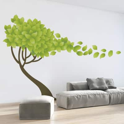 Sticker Giant Wall Tree wind