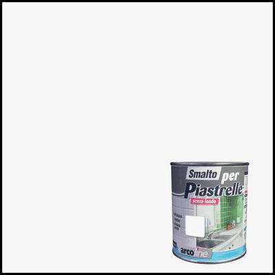 Smalto  per piastrelle Arcoline 613 bianco brillante 0,5 L