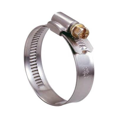 Fascetta a collare con banda piena per tubi d.40/59 Metallo