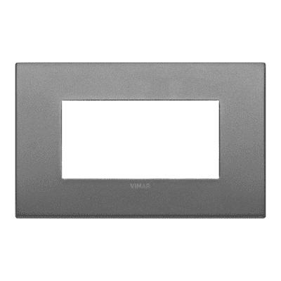 Placca VIMAR Arké 4 moduli ardesia matt